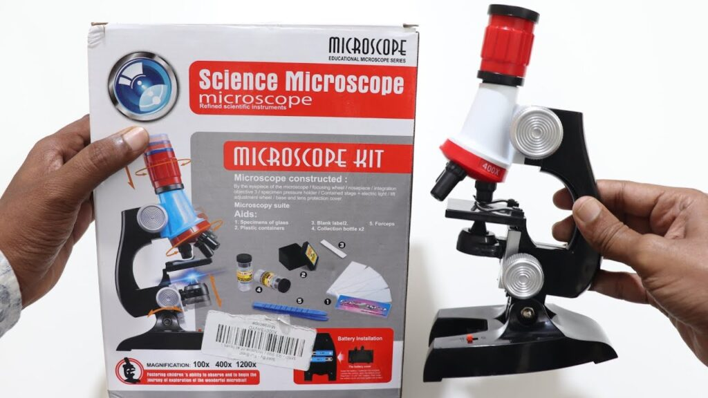 Educational Microscope for Students Unboxing & Testing – Chatpat toy tv